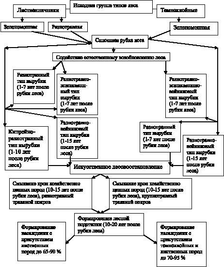 Структурная схема формирования