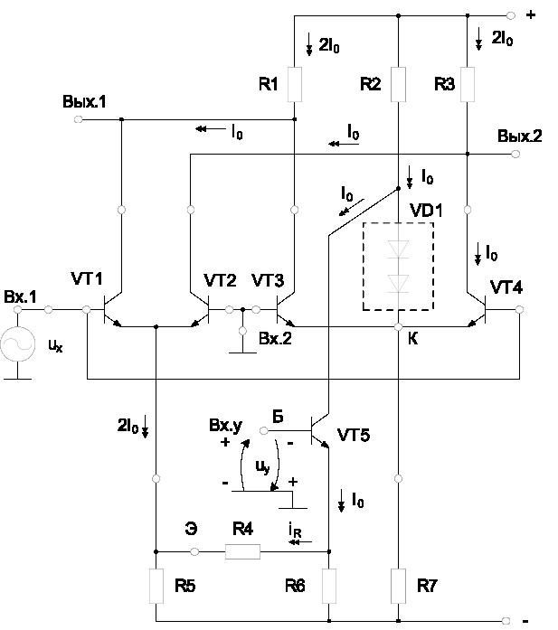 составного транзистора VT5